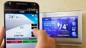 Thermostat Wi-fi app