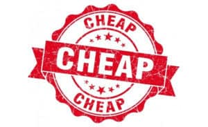 cheap offer