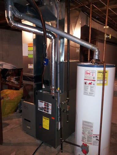 New furnace install in Raytown
